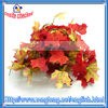 Red And Orange Fall Maple Leaf Garland Wedding