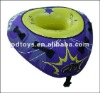 54 inch inflatable towable tube with cloth cover
