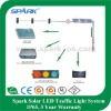 Spark Solar LED Traffic Light - Solar System - Traffic Light Control System
