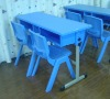ZL-01-01C Double student desk and chair manufacture of children's furniture