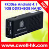 MK808 GOOGLE Android 4.1.1 OS MINI PC RK3066 dual core Cortex A9 GOOGLE TV BOX,4.1 OS set top box