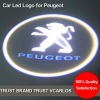 China Factory Led Car Logo Door Light for Peugeot