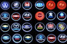 Factory price and hot sale Car brands logo names for Toyota