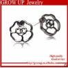 wholesale cheap black metal earrings 2012