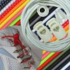 Elastic Shoelaces with Locks