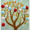 honeycomb paper ball garland -12 small colourful balls