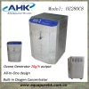 stainless steel casing with built-in oxygen concentrator & cooling fans 8~28 g/h Industrial Ozonator