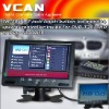 7 inch touch button lcd monitor matching DVB-2010HD