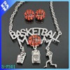 new design basketball sport colored rhinestone costume fashion jewelry sets