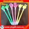 custom finger shape led light pen with different shape finger for promotion gift
