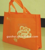 Lightweight nonwoven shopping bag