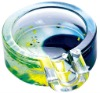 Cartoon Colored Glass Ashtray