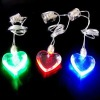 Heart Shape Led Necklace, Promotional Gifts, Valentine's Gifts