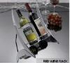 strainless steel red wine holders