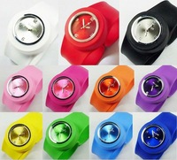 new type silcon slap watch for wholesale