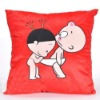 sublimation heat transfer promotion gift pillow cushion