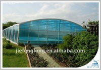 greenhouse Polycarbonate Sheet used for swimming pool
