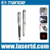 Mini LED Flashlight red laser pointer pen with PDA and money check TD-RP-36