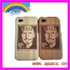 wood leather case for iphone 3gs