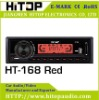 deckless car mp3 player support USB/SD/MMC slot (Red light &black button)