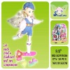 lovely baby toys fashion doll,9.5 inch doll