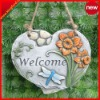 Decorative wall hang plaque for garden/home ornament