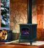 Free Standing Cast iron Wood Burning Stoves CS-STOVE-X8A With Boiler