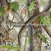 Camouflage fabric for spring and summer