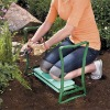 Green foldabl garden kneeler as seen on tv