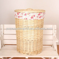 Wicker basket Wicker storage basket