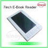 E-Book Reader OEM for Electronic-Book Reader 7''inch E-Book Reader+RK2738 TFT Screen with MP3 Movie earphone Hot Sales