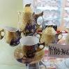 17pcs porcelain tea set(YTYDS-341G)