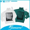 high quality fsahion high neck kids pullover sweater