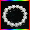 8 inches 12mm large natural white fake pearl bracelet