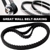 177MR25 rubber timing belt