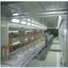 custom designed furniture spray booths/powder coating line