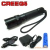 250 Lumens 3 Watt CREE Q5 LED Flashlight / Torch / Bike Light
