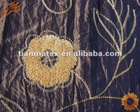 2013 article printed 100% polyester beach wear fabric /peach skin fabric/microfiber fabric/woven fabric
