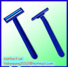 D219 twin blade disposable shaving razor with lubricant strip from original razor factory