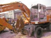 USED HITACHI EX100WD-1 WHEEL EXCAVATOR