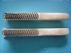 brass/stainless steel wire brush