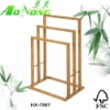 Bamboo towel racks