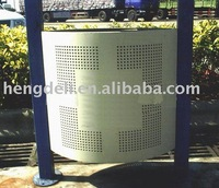 Perforated metal mesh products