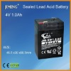 JIMING Sealed Lead acid battery:4V 1.0Ah