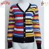 2012 Striped lady cardigan sweater