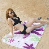 popular Printed mocrofiber adullt beach towel