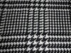 Plaid T/R wool fabric