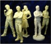 Film star clay figures model