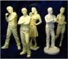 Film star clay figures model