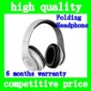 (White)High quality HD Magic Studio Sound Headband type Earphone &Headphone headset